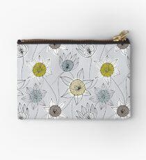 Floral constellation Zipper Pouch