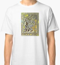 Temple carving twisted birds Classic T-Shirt