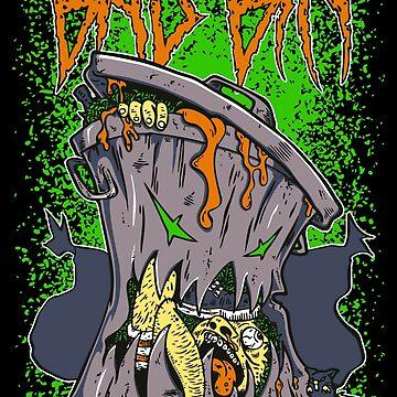 Bad Bin Creature by Benoeaves