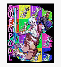 Corbadelic GwenPool Photographic Print