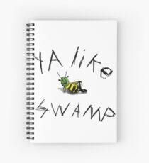 Ya like swamp? Spiral Notebook