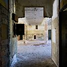 geometric corridor by rob dobi