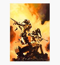 The Fighting Robots Photographic Print