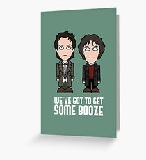 Withnail and I Greeting Card