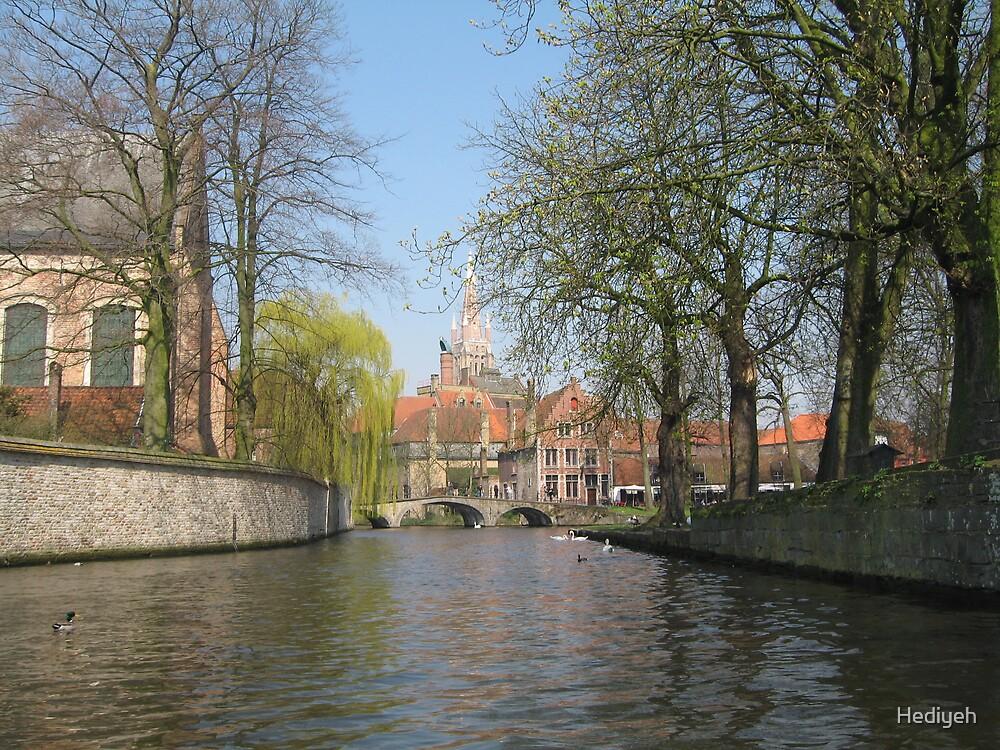 Bruges II by Hediyeh