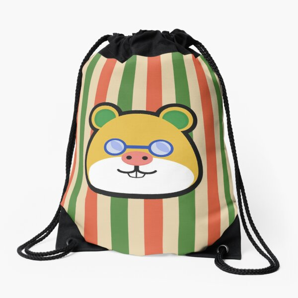 GRAHAM ANIMAL CROSSING Drawstring Bag