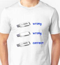 Pendrive usb 3.0 Unisex T-Shirt
