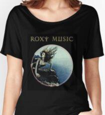 Roxy Music Siren Program Art Women's Relaxed Fit T-Shirt