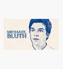 Classic Michael Bluth Photographic Print