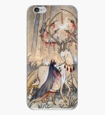 The Wish - Kitsune Fox Deer Yokai iPhone Case