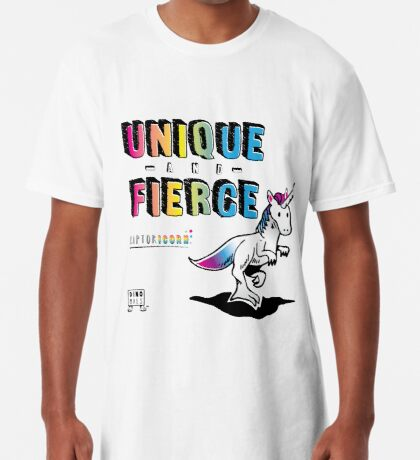 Unique and Fierce Long T-Shirt