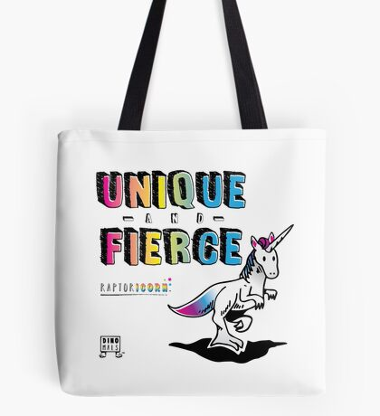 Unique and Fierce Tote Bag