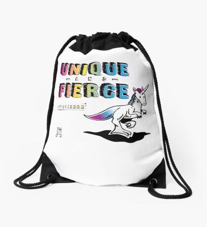 Unique and Fierce Drawstring Bag