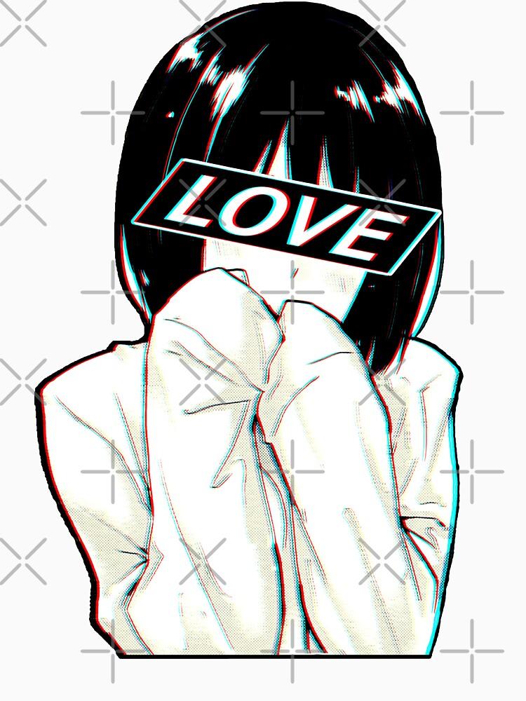 AMOR triste estética japonesa de PoserBoy