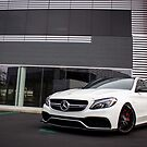Mercedes C63s AMG - The White Knight! by HnatAutomotive