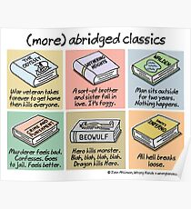 (more) abridged classics Poster