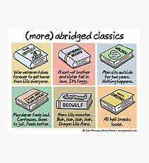 (more) abridged classics Photographic Print