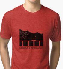 Herzog & De Meuron Logo - Elbphilharmonie Tri-blend T-Shirt