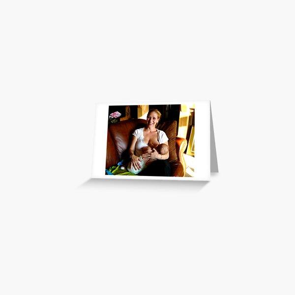 ~White Foxx~ Greeting Card