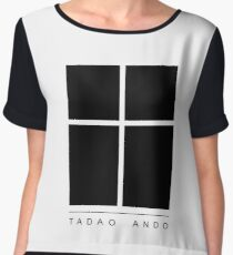 Tadao Ando Logo Women's Chiffon Top