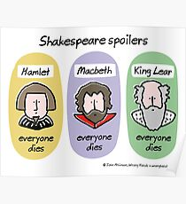 Shakespeare spoilers Poster