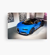 First Bugatti Chiron in the US! Canvas Print