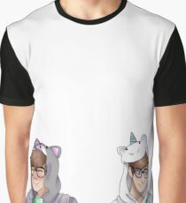 Patton and Logan in onzies Graphic T-Shirt