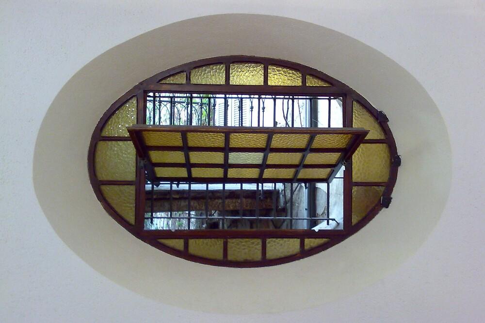 Yellow Window by flow4