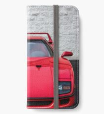 The Ferrari F40 - Grandfather of the Supercars iPhone Wallet