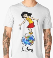 "Libra among the stars - series of T-shirts ""Polaris"" Men's Premium T-Shirt"