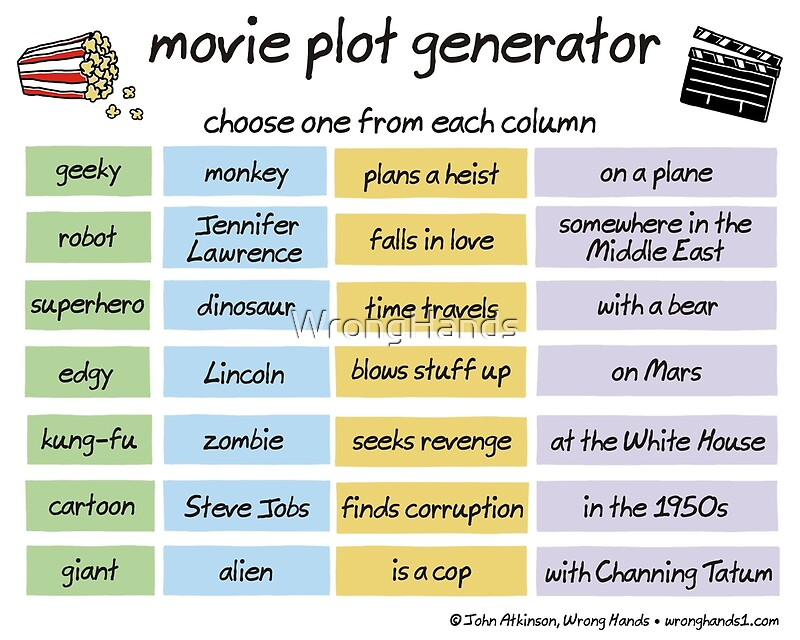 movie plot generator\