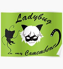 Ladybug is my Camembert Poster
