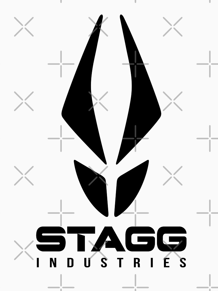 Stagg Industries (Black) [Roufxis - RB] by RoufXis
