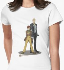 Stephen and Crane by Mila May Women's Fitted T-Shirt