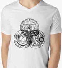 Superwholock Venn Diagram Men's V-Neck T-Shirt