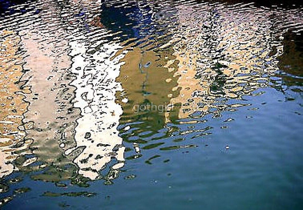 Water Reflection by gothgirl