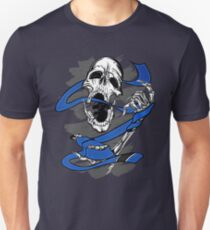 Jiu Jitsu BJJ Skull Shirt for Blue Belts Unisex T-Shirt