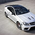 C63 Black Series From Above - 2 by HnatAutomotive