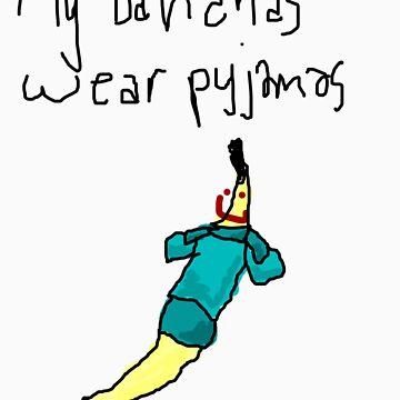 My Bananas Wear Pyjamas by firesketch