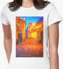 The Walkabouts - Night Walk in a Small German Town Womens Fitted T-Shirt