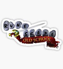 Runescape Oldschool Logo Sticker