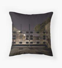 Port Authority Destruction (C) Throw Pillow