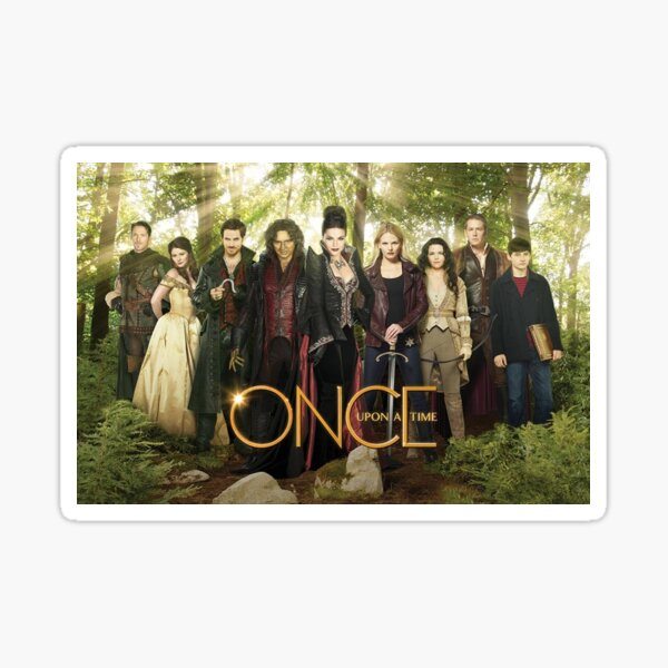 Once Upon a Time Cast Sticker