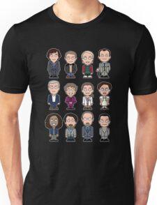 Sherlock and Friends mini people (shirt) Unisex T-Shirt