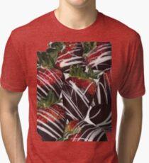 delicious strawberries  Tri-blend T-Shirt
