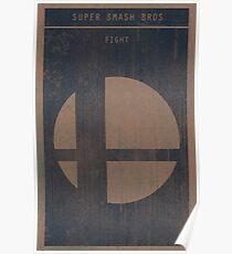 Super Smash Bros. Gaming Poster Poster