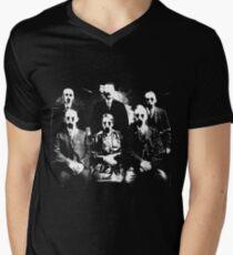 The Haunted Family Mens V-Neck T-Shirt