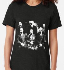 The Haunted Family Tri-blend T-Shirt