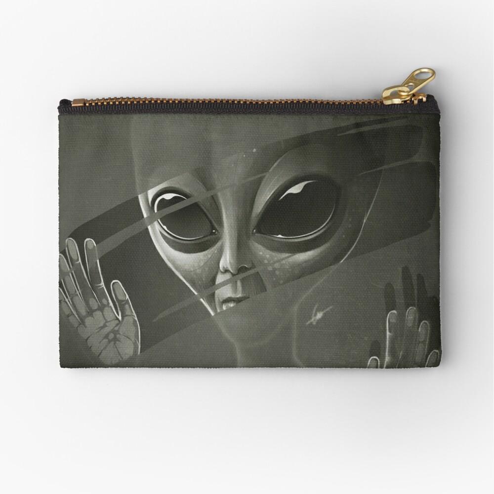 Alien Zipper Pouch