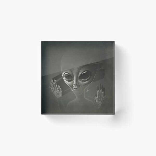 Alien Acrylic Block